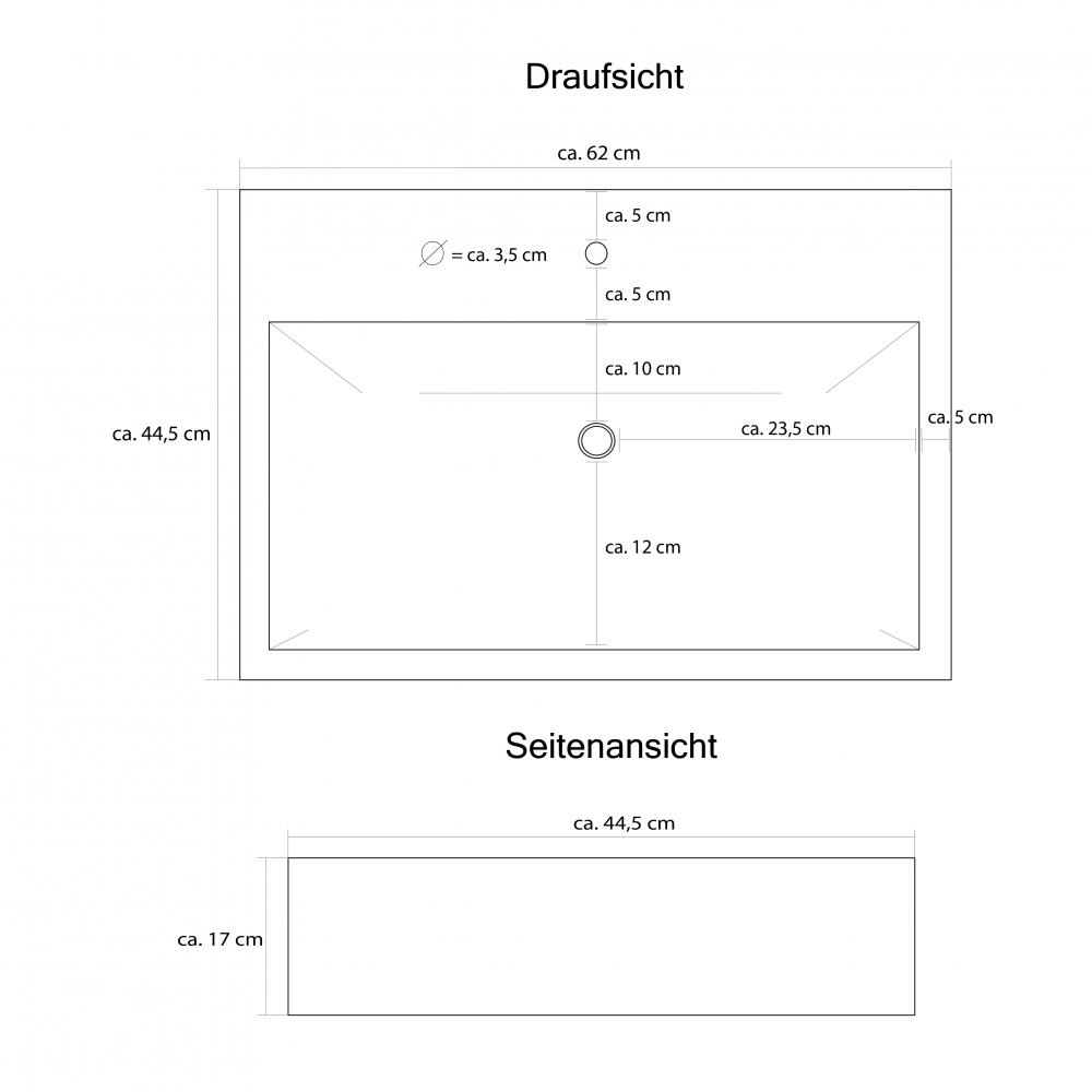 Design Waschbecken Saba V6 ~ Waschbecken Norm