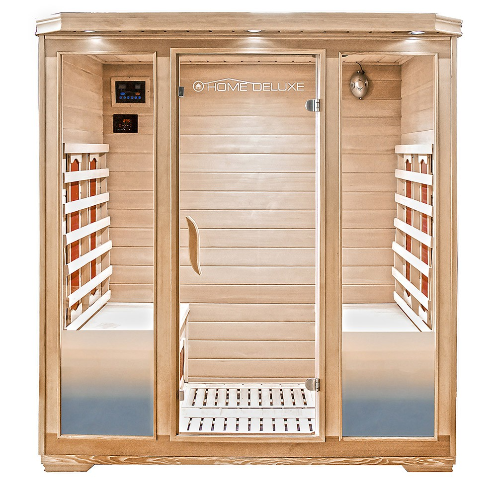 infrared sauna cabin bali xl. Black Bedroom Furniture Sets. Home Design Ideas