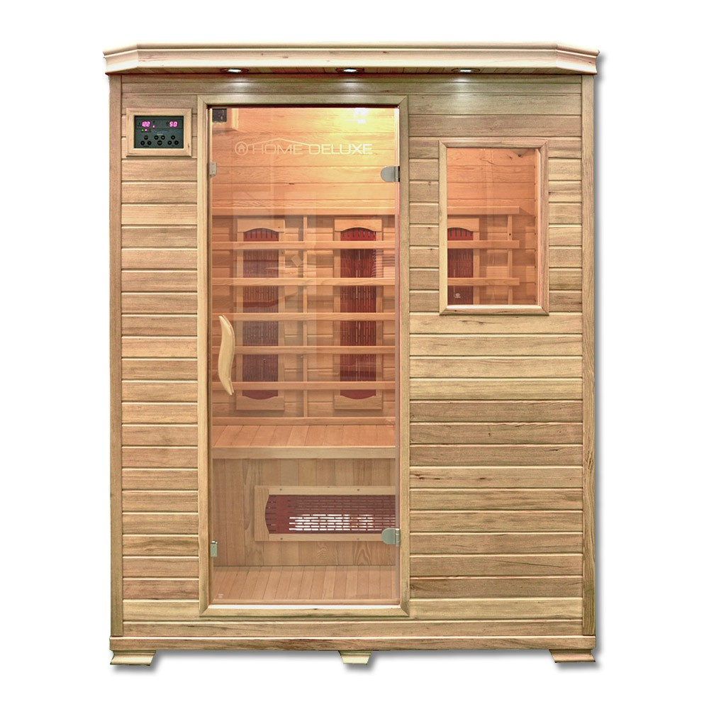 infrarotsauna redsun l. Black Bedroom Furniture Sets. Home Design Ideas