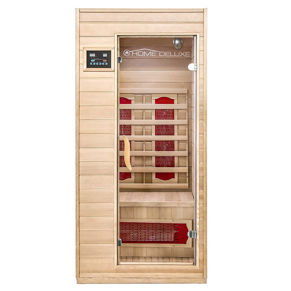 infrared sauna cabin redsun s. Black Bedroom Furniture Sets. Home Design Ideas