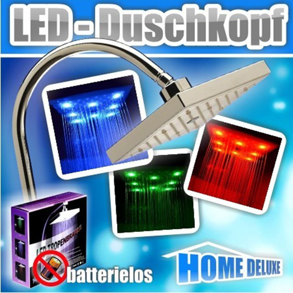 LED-Tropenbrause Tropic