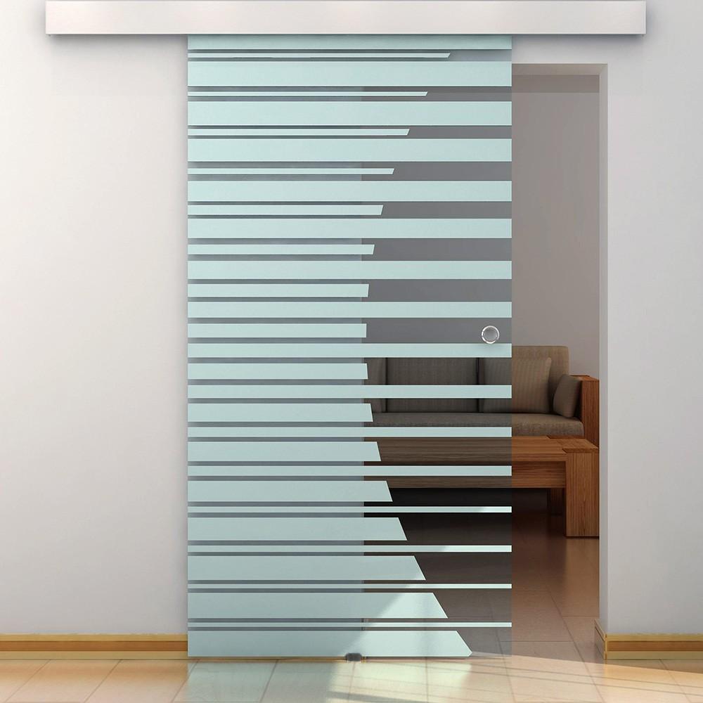 HOME DELUXE | Glastür | Glasschiebetür | Schiebetür | Glas | Tür