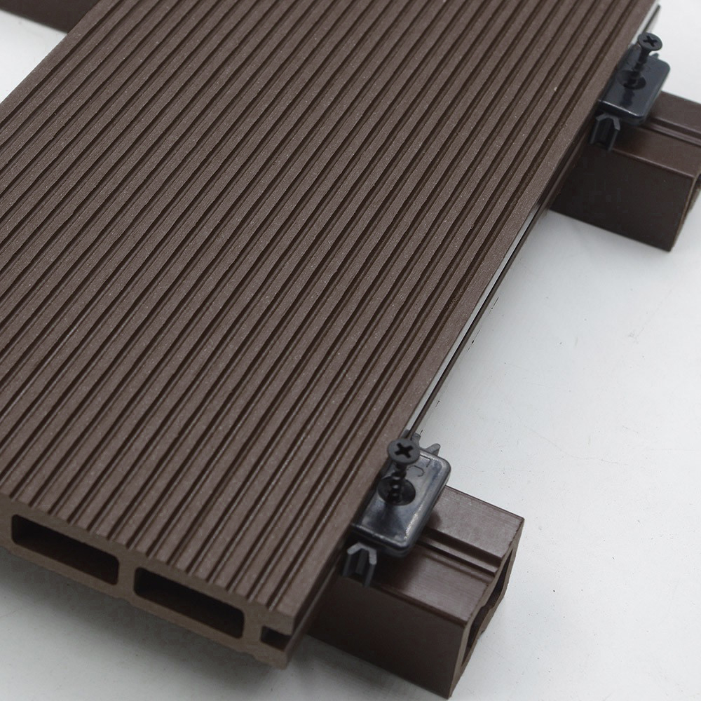 wpc terrassendielen dunkelbraun 30m 2 20 m. Black Bedroom Furniture Sets. Home Design Ideas