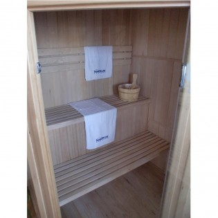 Traditionelle Sauna Relax XL – Bild 2