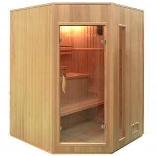 Traditionelle Sauna Relax XL – Bild 1