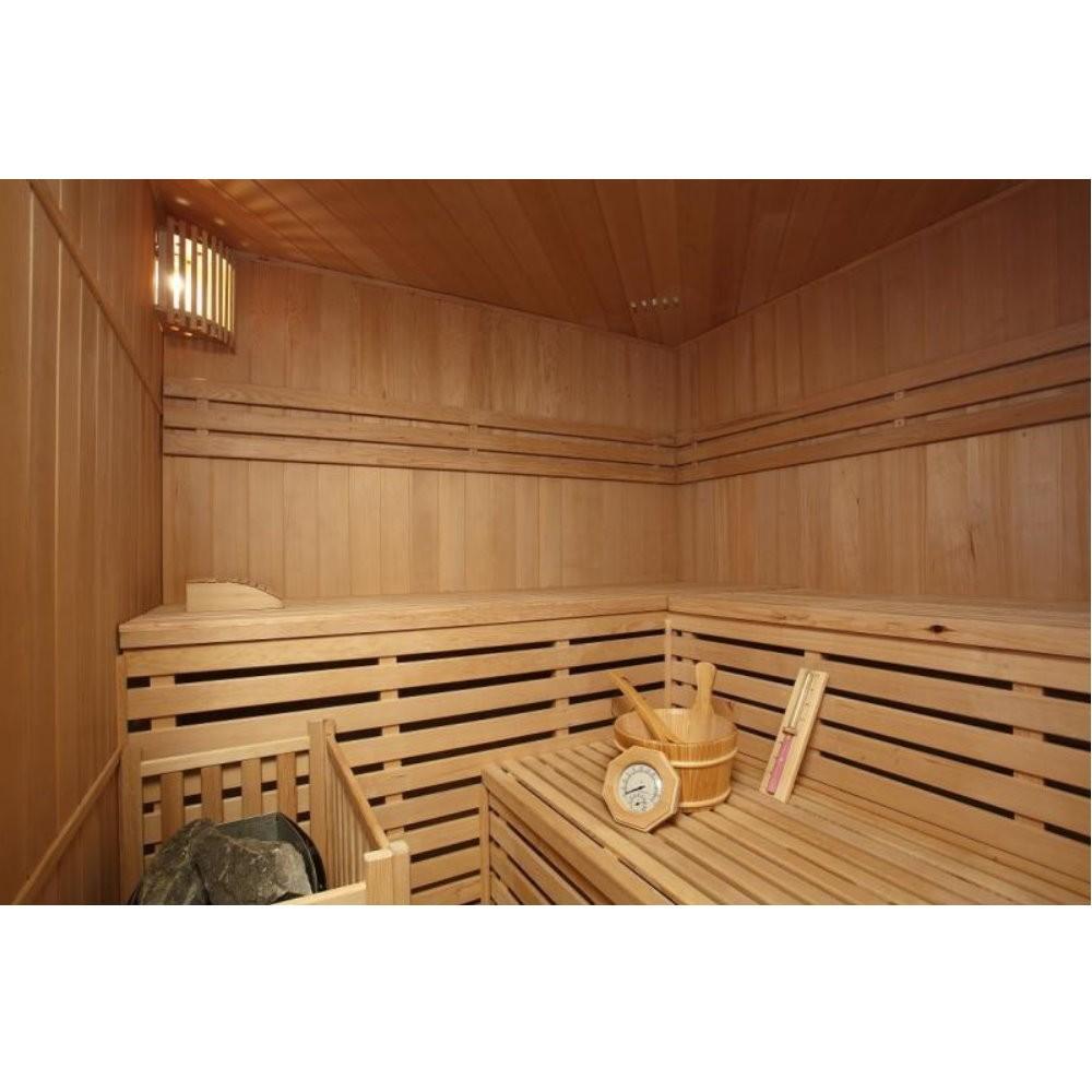 traditionelle sauna relax xl big. Black Bedroom Furniture Sets. Home Design Ideas