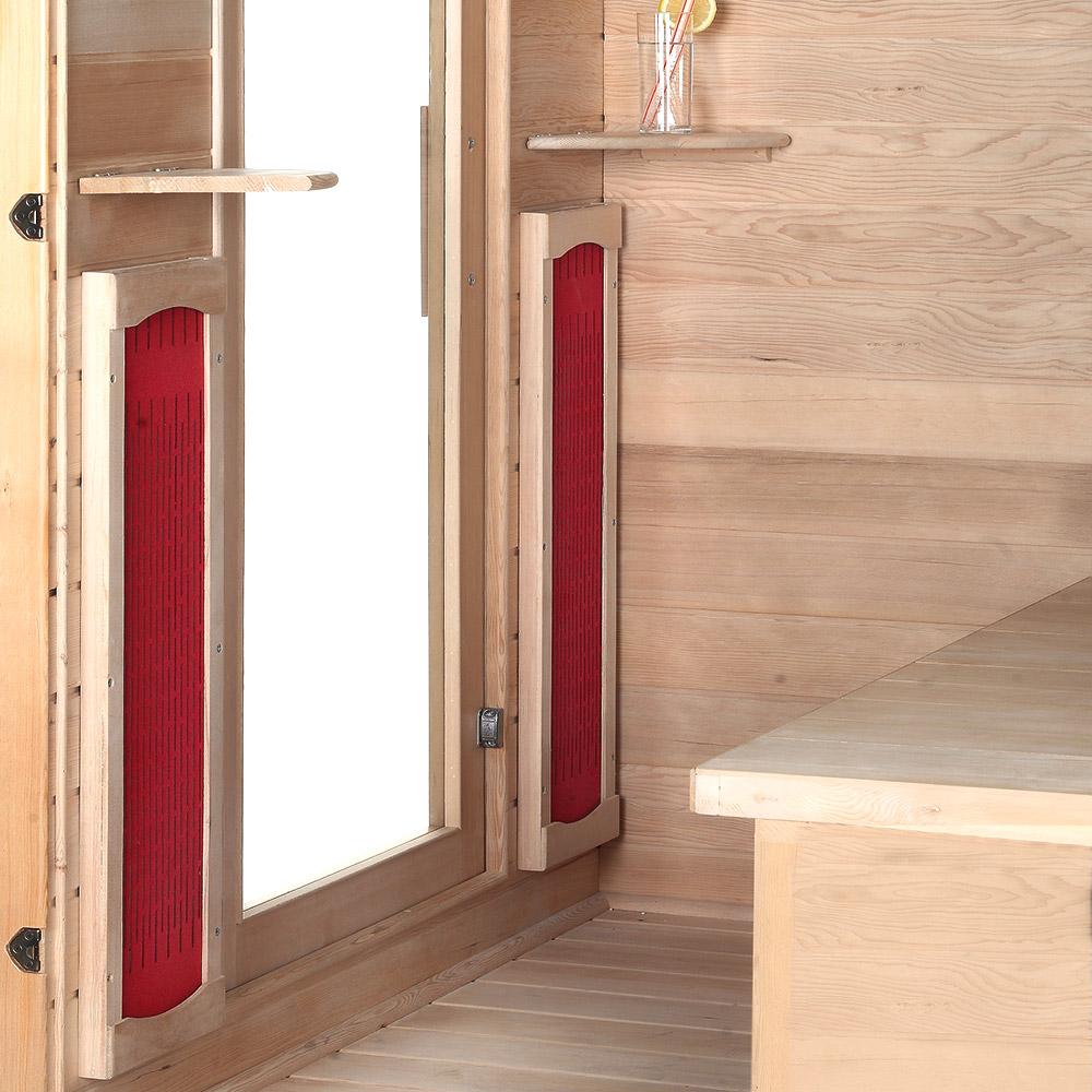 infrared sauna cabin redsun m. Black Bedroom Furniture Sets. Home Design Ideas
