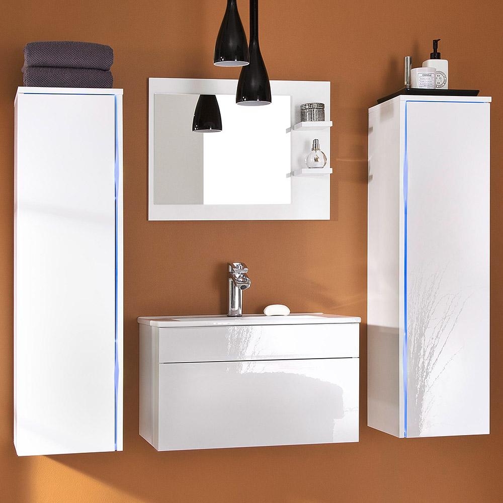 Sylt Bathroom Furniture Set White