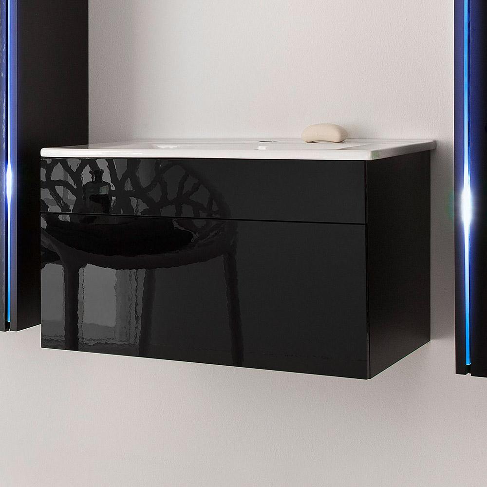 badm bel sylt schwarz ft. Black Bedroom Furniture Sets. Home Design Ideas
