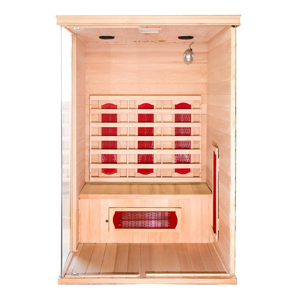 infrarotsauna california l. Black Bedroom Furniture Sets. Home Design Ideas