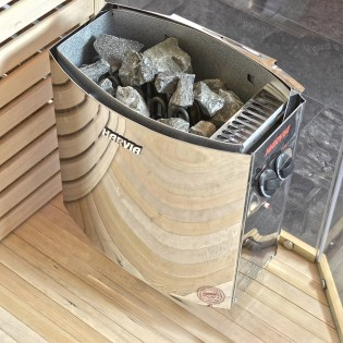 Traditionelle Sauna Skyline XL BIG – Bild 3