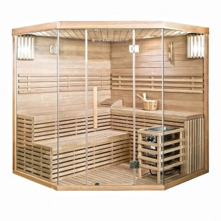 Traditionelle Sauna Skyline XL BIG – Bild 1