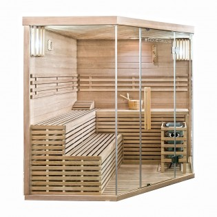 Traditionelle Sauna Skyline XL BIG – Bild 2