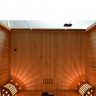 Traditionelle Sauna Skyline L – Bild 5