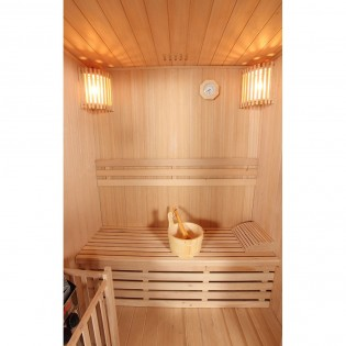 Traditionelle Sauna Skyline L – Bild 3