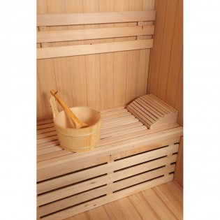 Traditionelle Sauna Skyline L – Bild 4