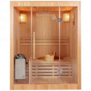 Traditionelle Sauna Skyline L – Bild 1
