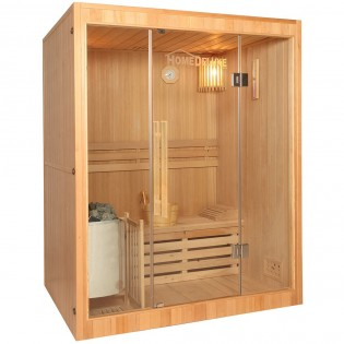 Traditionelle Sauna Skyline L – Bild 2