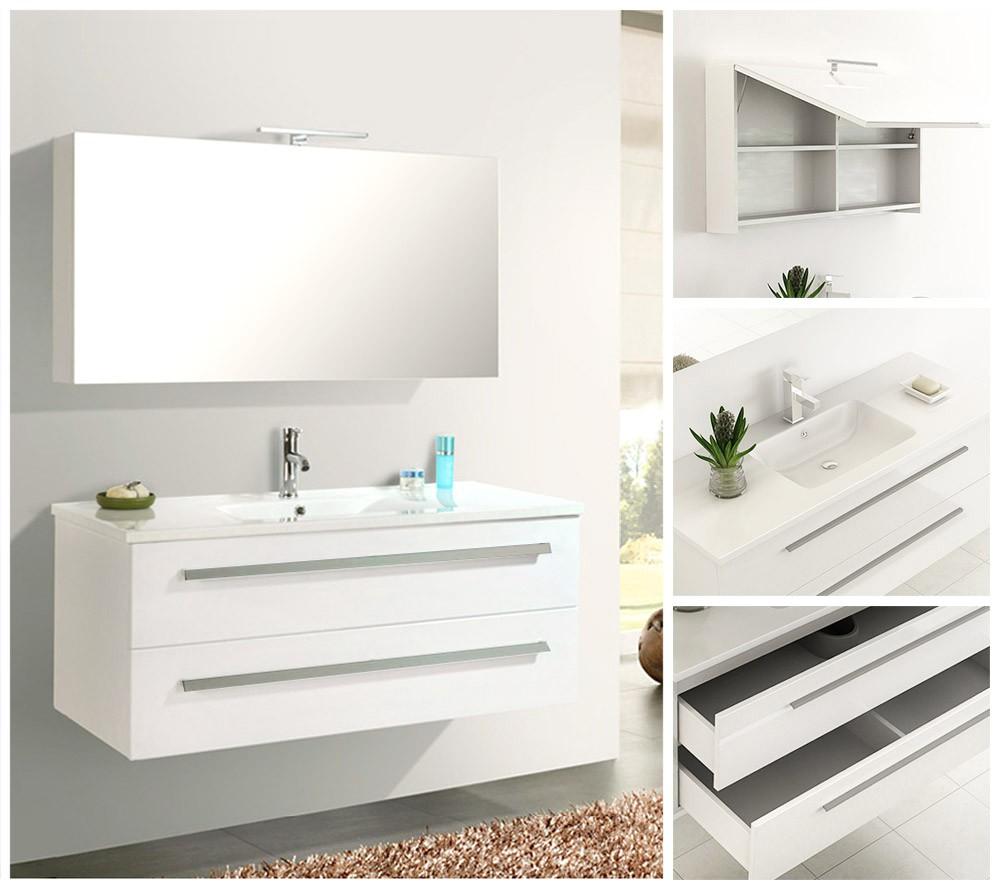 Badmöbel Badezimmermöbel Badezimmer Waschbecken Waschtisch Schrank ...