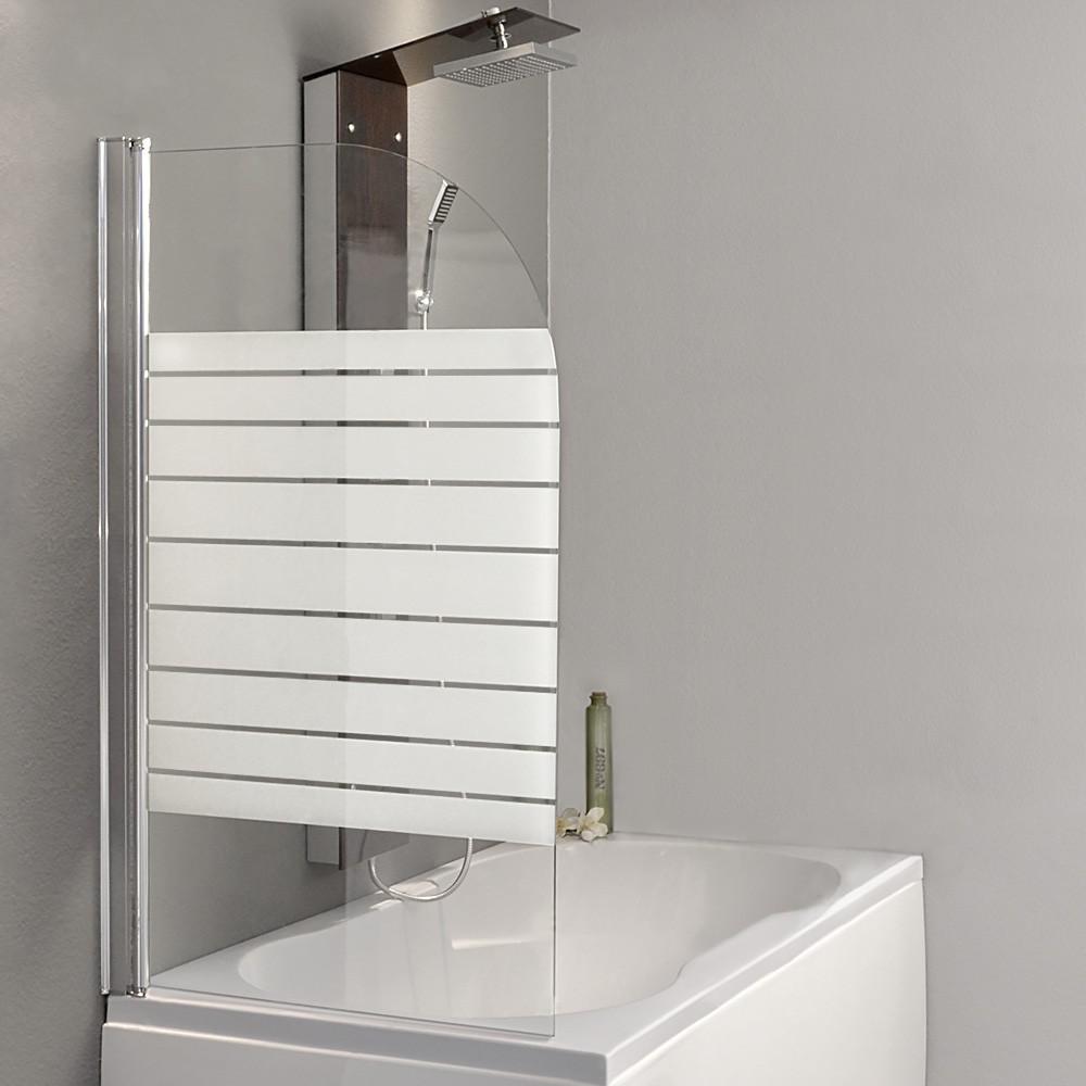 badewannenaufsatz duschabtrennung duschtrennwand duschwand badewannen echtglas ebay. Black Bedroom Furniture Sets. Home Design Ideas