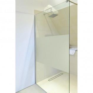 duschtrennwand navaa milchglasstreifen mit lotuseffekt 160 12. Black Bedroom Furniture Sets. Home Design Ideas