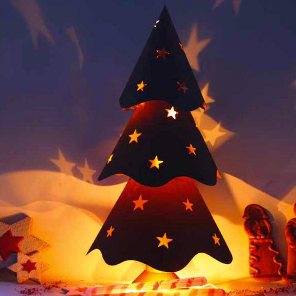 home deluxe weihnachtsbaum edelrost rost garten deko. Black Bedroom Furniture Sets. Home Design Ideas