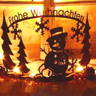Rost Winterlandschaft The Snowmen  – Bild 1