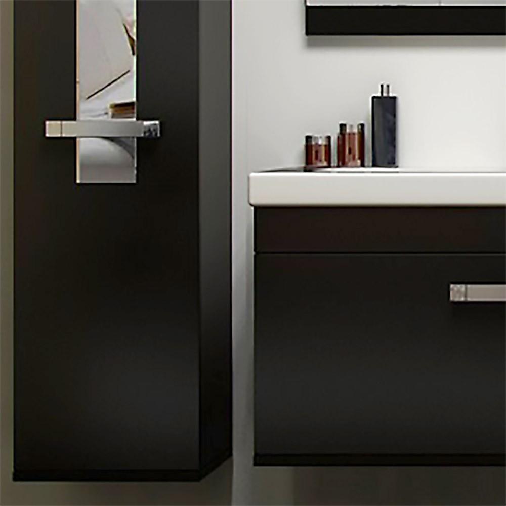 badm bel juist schwarz ft. Black Bedroom Furniture Sets. Home Design Ideas