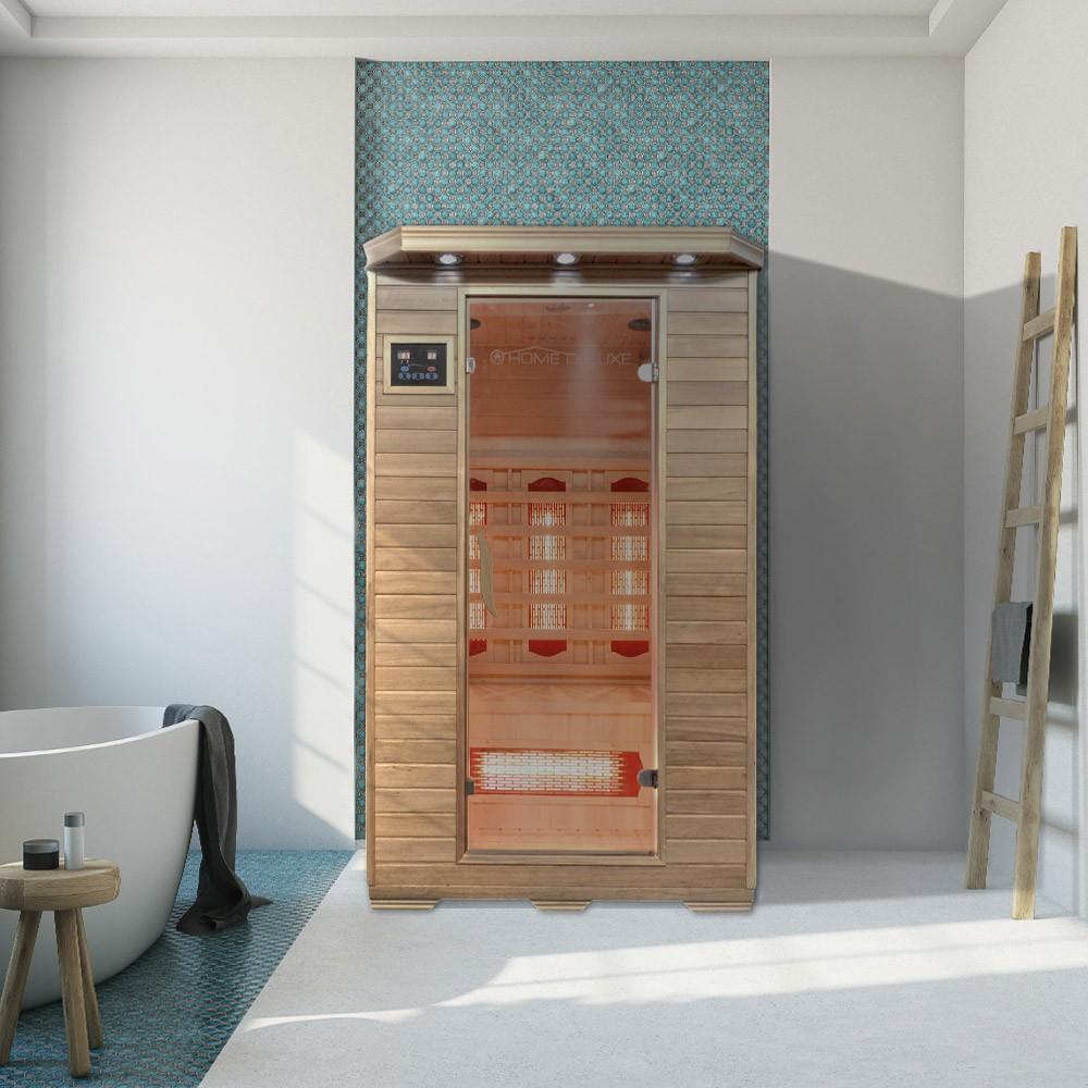 infrarotsauna redsun m mit vollspektrumstrahler. Black Bedroom Furniture Sets. Home Design Ideas