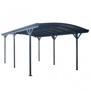 Design Carport FALO anthrazit – Bild 3