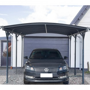 Design Carport FALO anthrazit – Bild 1
