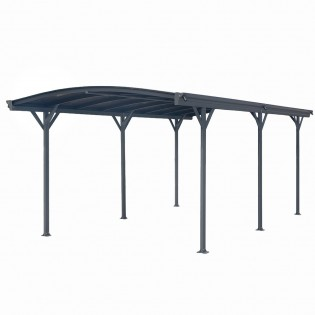Design Carport FALO anthrazit – Bild 4