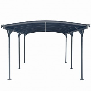 Design Carport FALO anthrazit – Bild 5