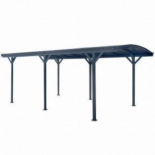 Design Carport FALO anthrazit – Bild 6